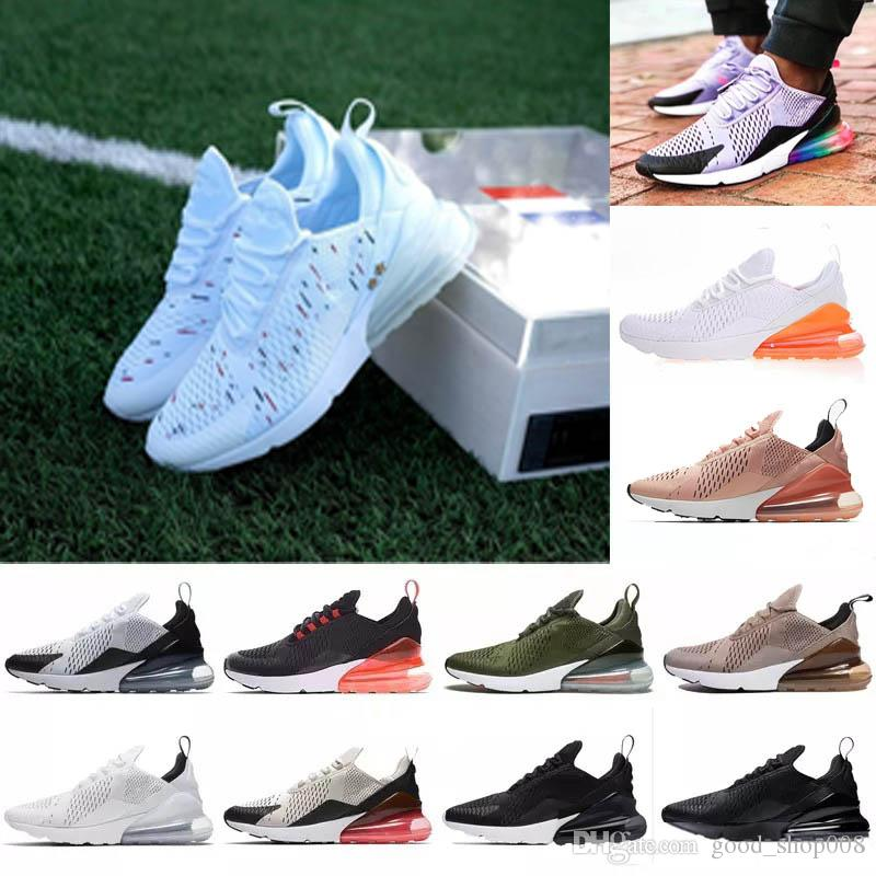 2c442ca877676 New Arrivals 2018 French Champion 270 Men Shoes Maxes Black White ...