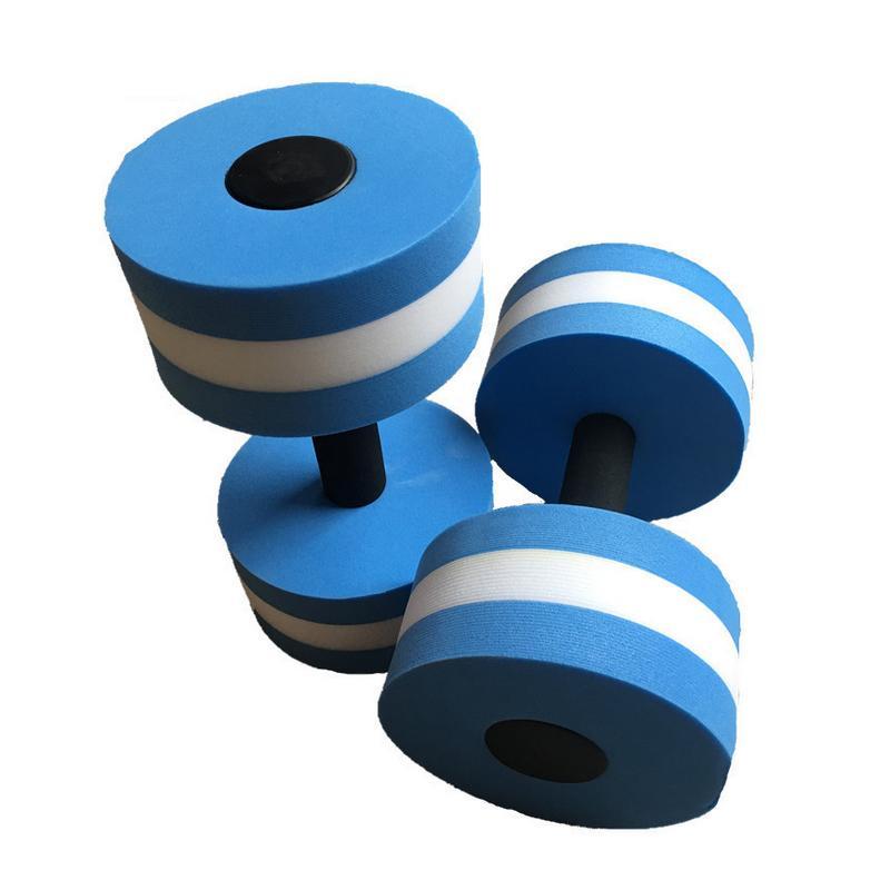 EVA Water Floating Dumbbells Aerobics Yoga Fitness Dumbbell Swimming Equipment