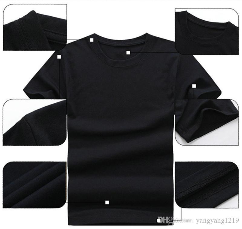 Zomer abbigliamento gedrukt iron maiden punk rock band tees hiphop skateboard korte mouwen t-shirt mannen merk plus size