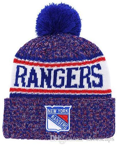 527882b25 Discount Rangers Beanie hat Sideline Cold Weather Graphite Official Revers  Sport Knit Hat All Teams winter Knitted Wool Skull Cap