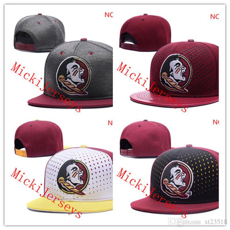 new products 147d9 ad3ae ... hot 2019 ncaa florida state seminoles snapback caps black red grey  royal florida state seminoles knit