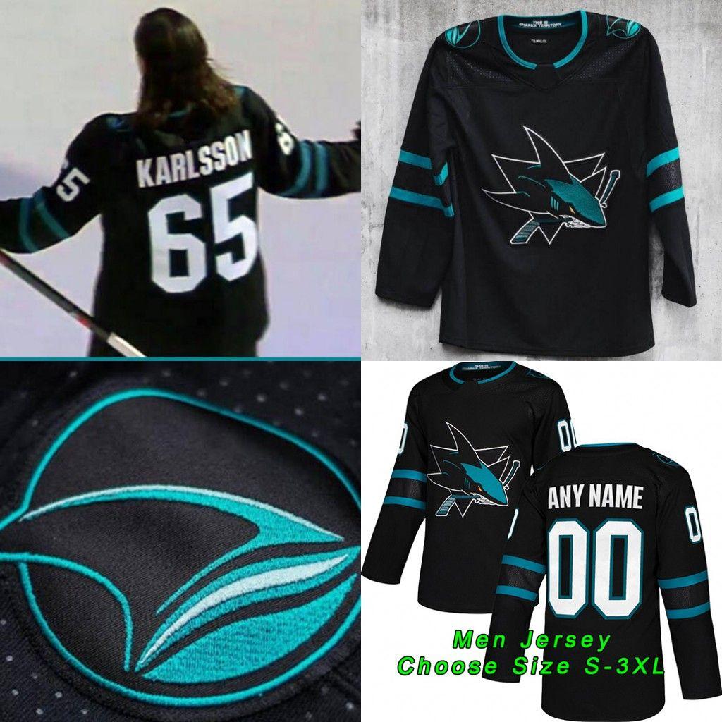 746e1824e50 ... coupon code for san jose sharks 2019 new season 65 erik karlsson 19 joe  thornton joe