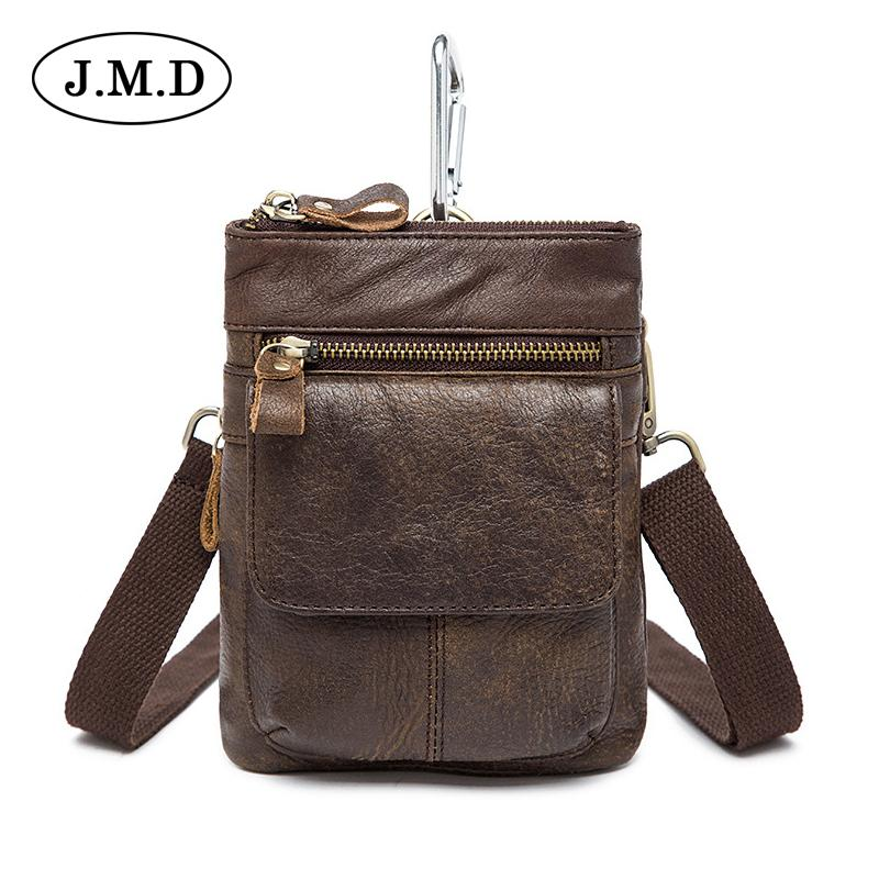 fe518ac168ff0 J.M.D Hiqh Quality Fashion Genuine Leather Men S Fanny Pack Multifunction Travel  Accessories Bags For Mens Waist Bags 8868 Black Bags Wheeled Backpacks From  ...