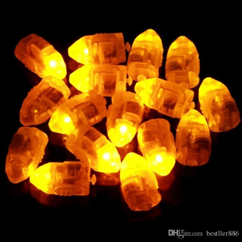 New 2016 Waterproof LED Light For Paper Lantern Ballon Christmas Wedding Party Decor Hot Sale
