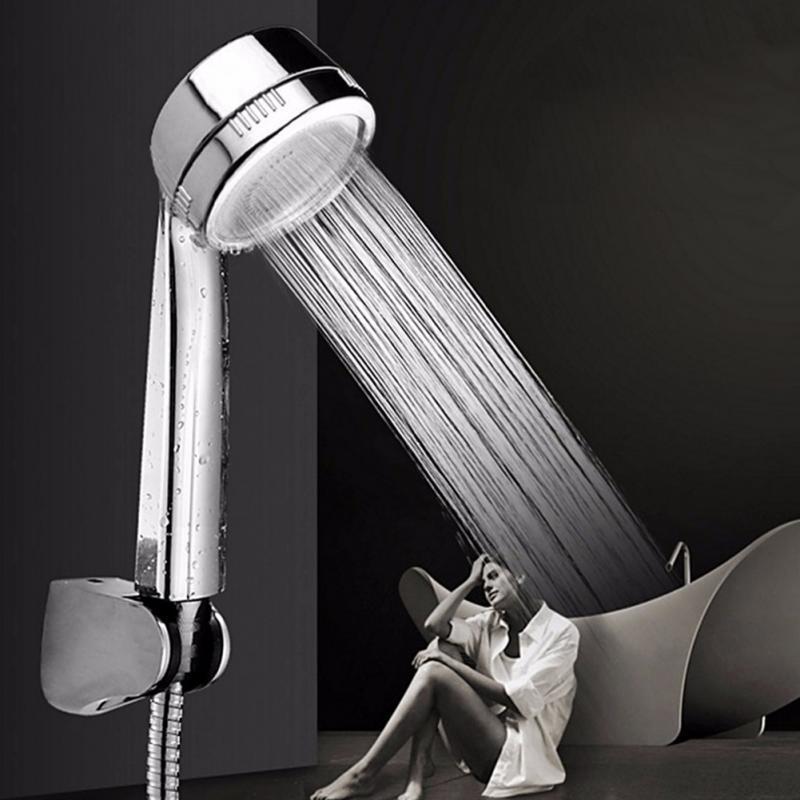 2018 Bathroom Showering Head Handheld Shower Head Nozzle Bathroom ...