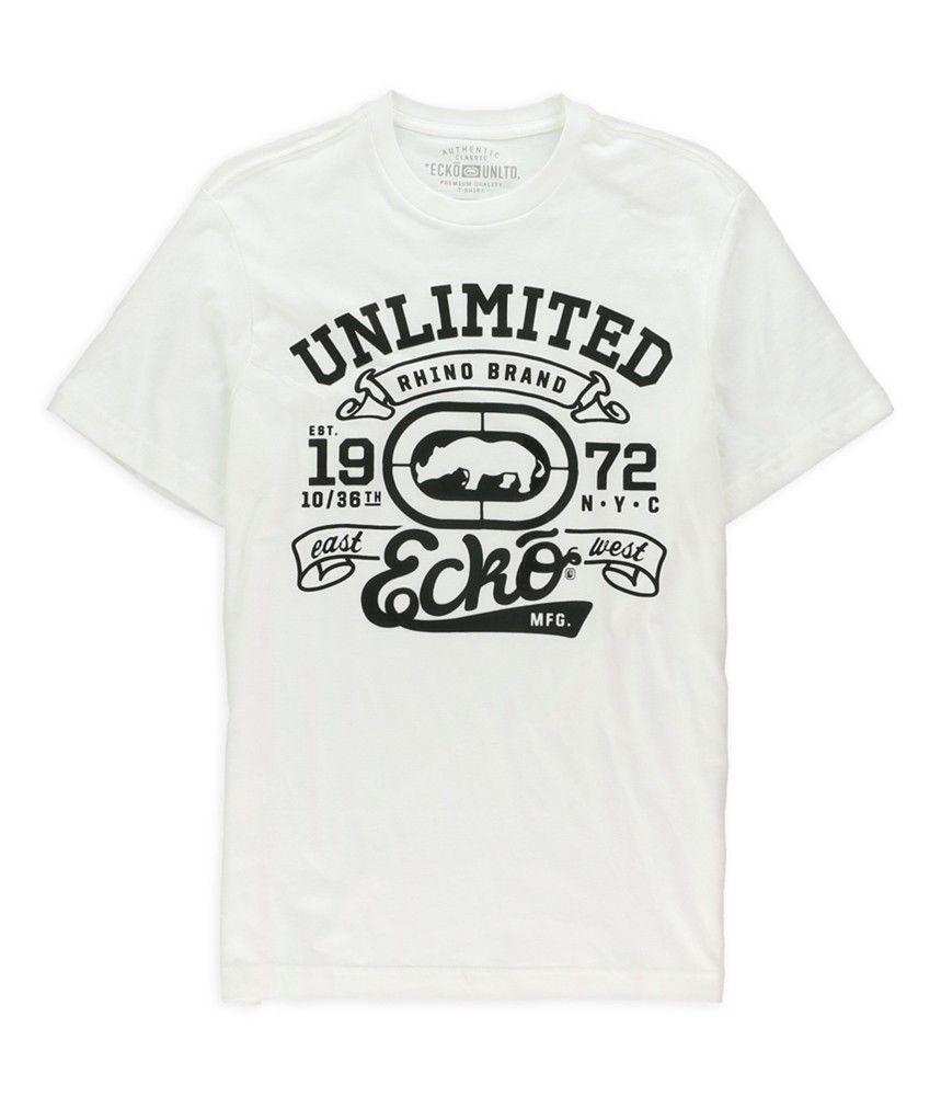 34181921d85 Compre Ecko Unltd. Ruas Dos Homens R Nós T Shirt Gráfico Pintado Sopro De  Biyue5