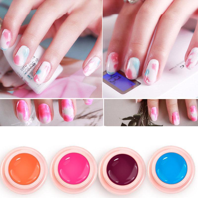 More Colors UV Gel Nail Polish Set Nail Art Soak Off Stamping Print ...