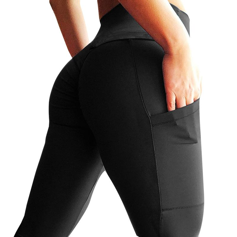 8f9c9fc5b49bc Push Up Leggings Women Fitness Legging High Waist Workout Leggings Pockets  Fashion Solid Bodybuilding Jeggings Women Y1891404 Online with  15.27 Piece  on ...