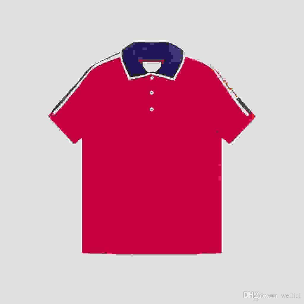 2018 Summer Brand New Mens Polo Shirt Men Short Sleeve Mercerized