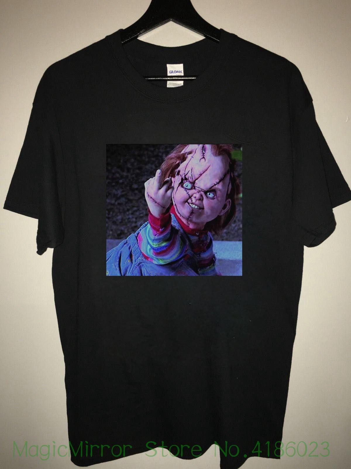 05e144b492896 Chucky T Shirt ; Child s Play Chucky Tee Shirt New Brand Sleeve Tee Shirt  Homme Tshirt