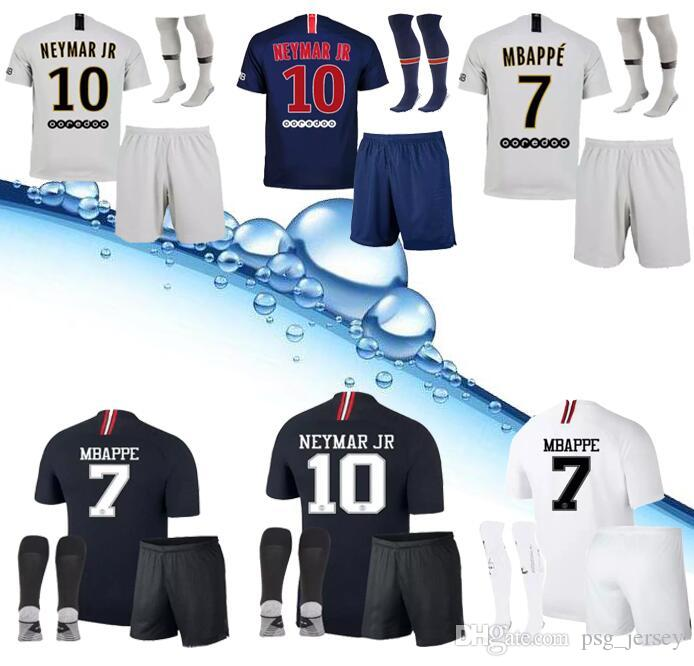 494f79ac7626fa 2019 New 18 19 PSG Adult Soccer Jerseys 2019 KiTs Kit MBAPPE CAVANI DI  MARIA VERRATTI Home Shirt Saint Germain Jerseys And KiT From Psg jersey
