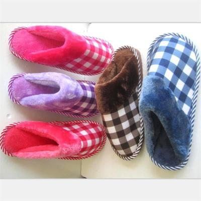 cb33bc4dcc8 Prowow Women Slipper Striped Bottom Soft Home Slippers Warm Cotton Shoes  Women Indoor Slippers Slip On Shoes For Bedroom House Silver Shoes Slipper  From ...