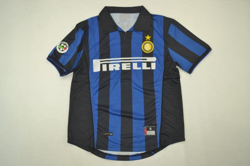 2019 1998 99 Inter Home Retro Jerseys Ronaldo Baggio Recoba Zamorano  Zanetti Simeone Sousa Kanu Bergomi Pilro Vantage CLASSIC Jersey From  Samlueng 6b064c58d