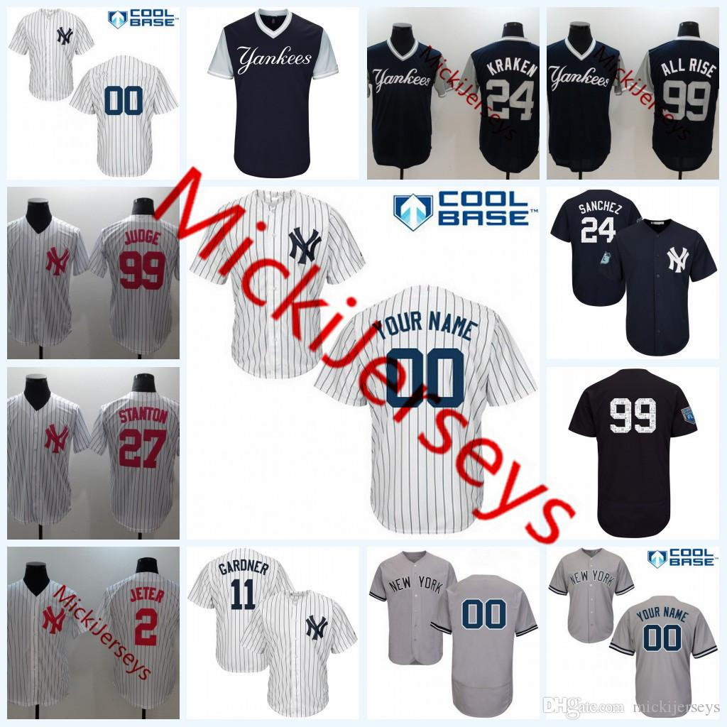 47411b5fec60f Custom New York Yankees T Shirts