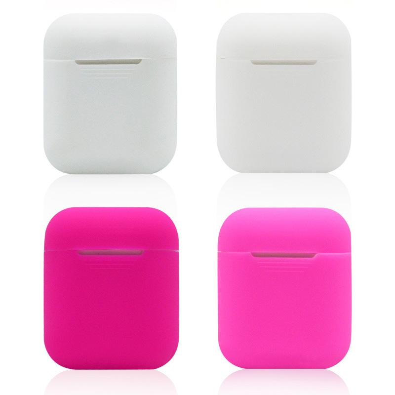 Soft Silicone Case For Airpods Protector Sleeve Transparent Ultra Thin Cover Shockproof Pouch For Apple Air Pods Earphone for iPhone 7 X