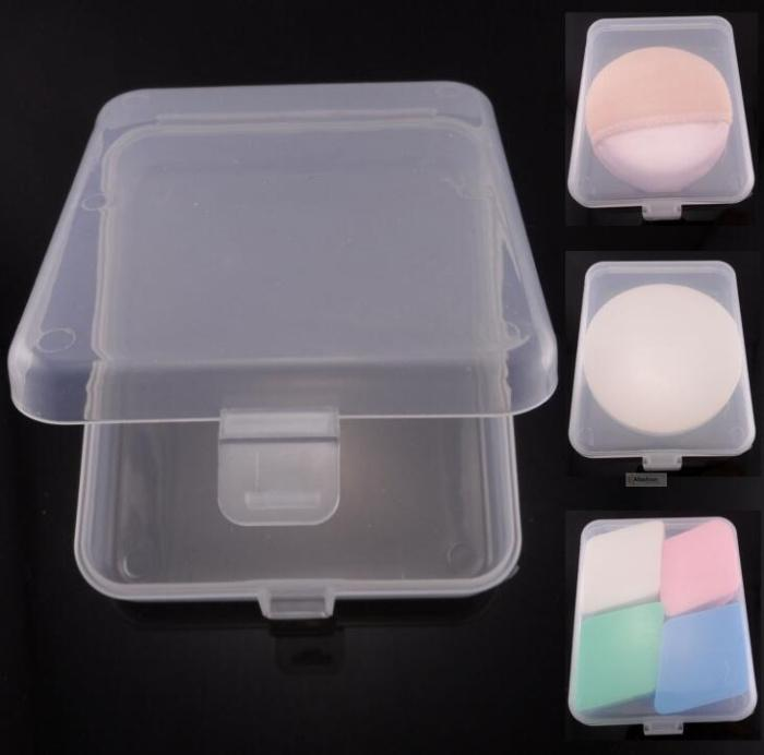 1pc small cosmetic storage box for makeup Puff sponge false eyelashes small bottle or make up tools items