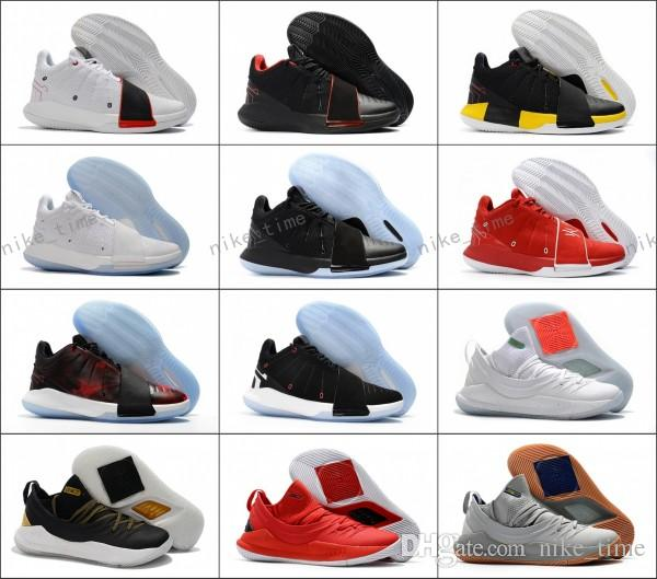 huge discount 9505d 9266e Wholesale 2018 Newest Men Chris Paul XI 11 White Red Ice Blue CP3  Basketball Shoes 11s Men Sports Sneakers 40 46 Low Top Basketball Shoes  Kevin Durant ...