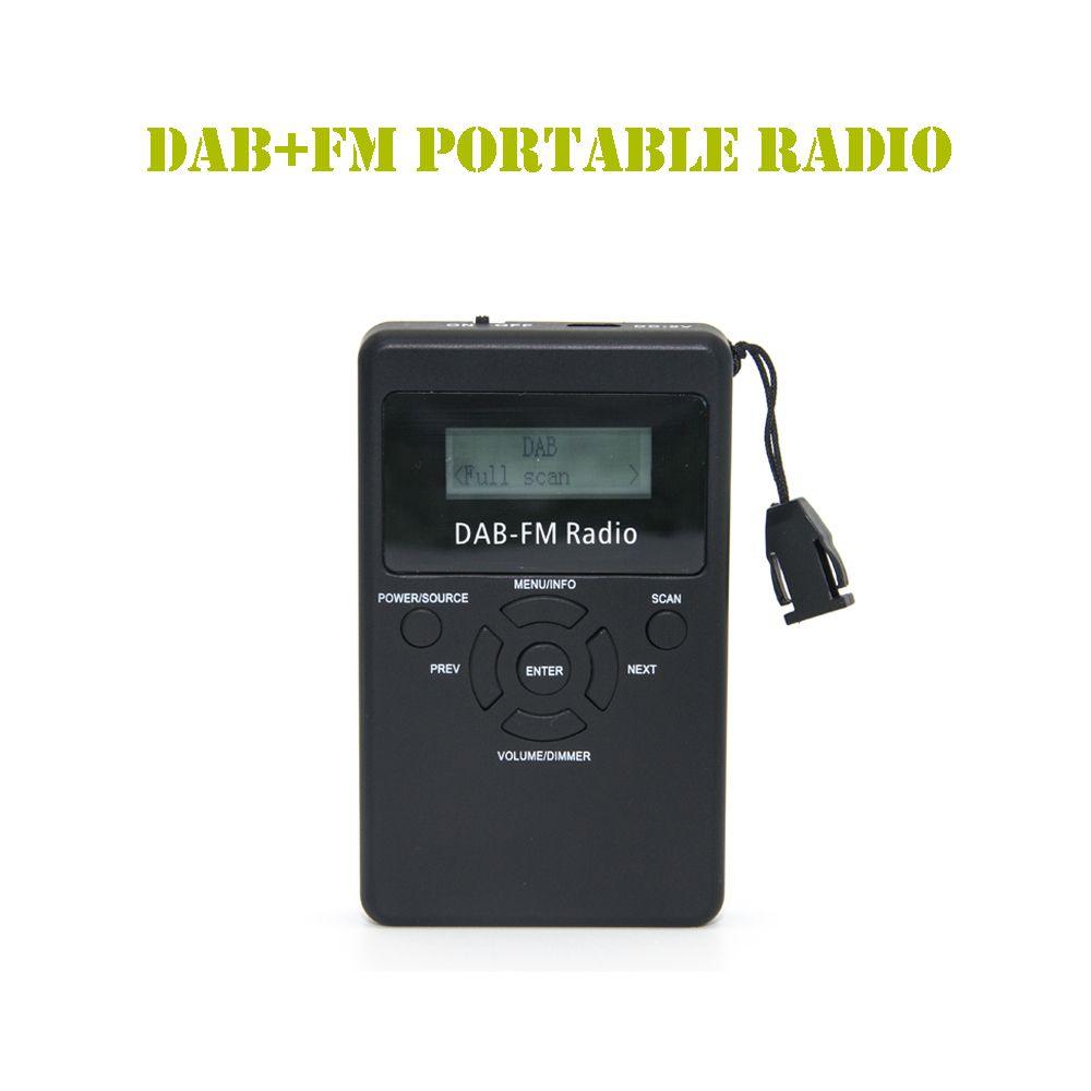 Coolvox DA-839 Portable DAB+ / FM RDS Radio Pocket Digital ...