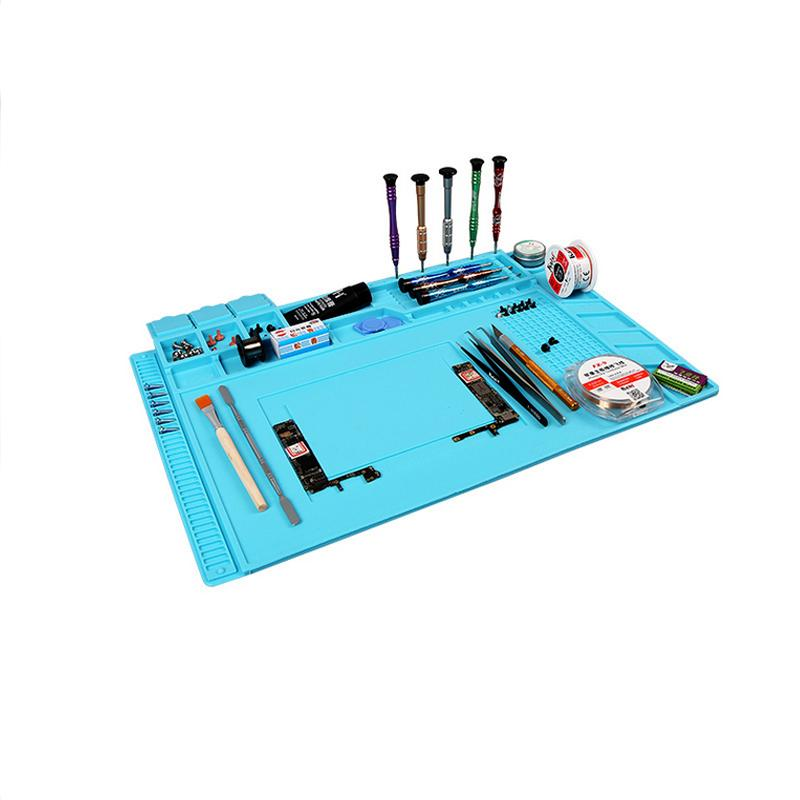 s 160 magnetic heat resistant soldering mat silicone heat gun bga rh dhgate com