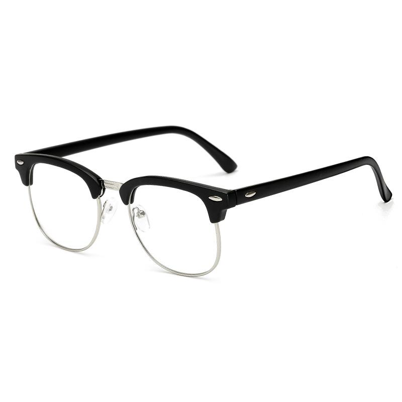 6677f1c13d56 The Factory Sells The New 3016 Fashionable Frame Glasses Retro Metal Half  Frame 975 Flat Light Mirror Men And Women With The Same Style Eyeglass  Frames For ...