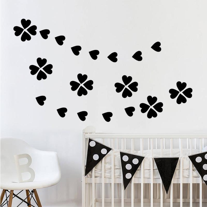 Diy Little Hearts Wall Stickers Living Room Bedroom Nursery Love Heart Wall  Decal Kids Room Home Decor Art Wall Decals Poster Wallpapaer Removable Wall  ...