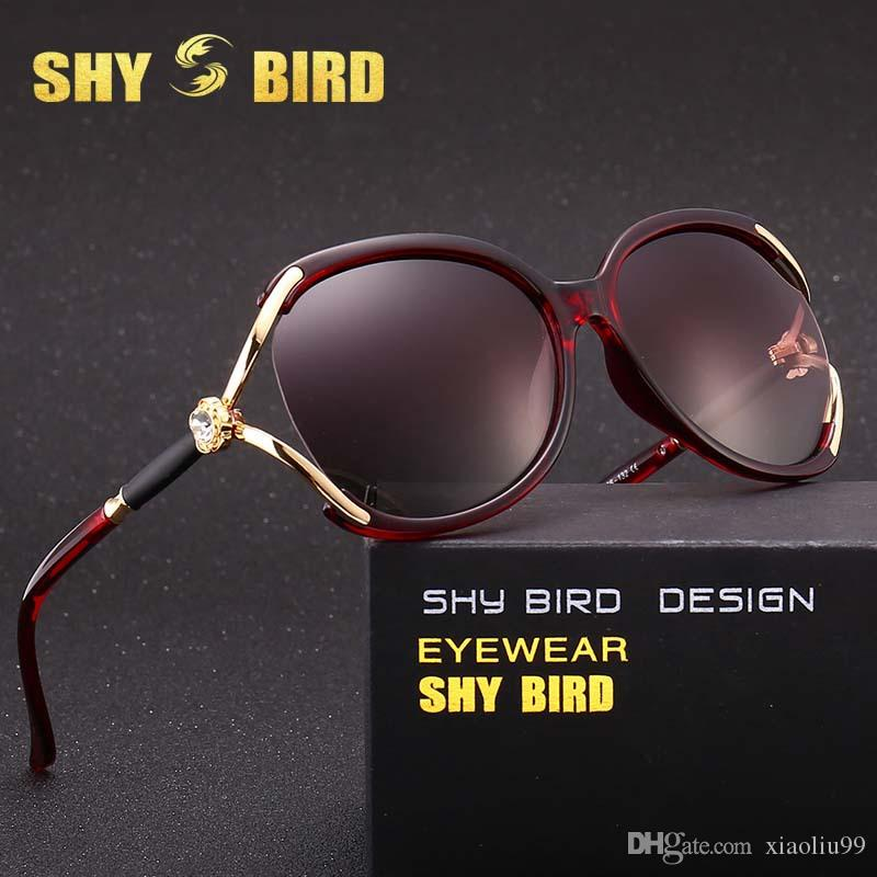 ee921d72a Fashion Brand SHYBIRD New Polarized Sunglasses Women Driving Sun Glasses  Retro Glasses Ladies Two Color Lens Sports Eyewear 5341 Prescription Glasses  ...