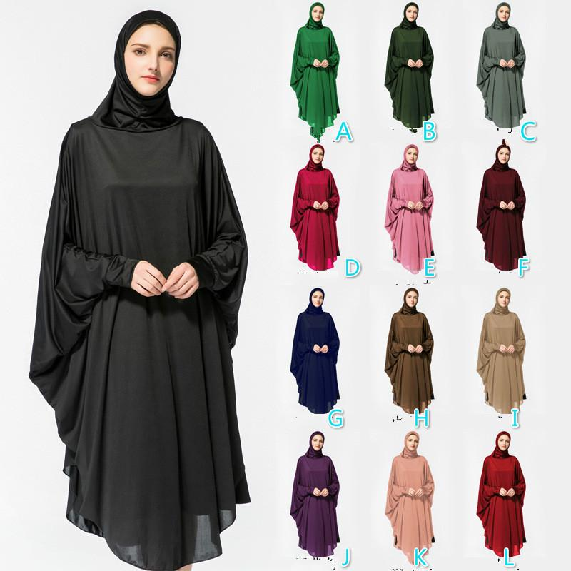 2a9972caa5 2019 Lady New Muslim Bat Hooded Robes Women Clothing Islamic Abayas Jilbab  Musulmane Dress Vestidos Longos Clothing From Ilovefashion