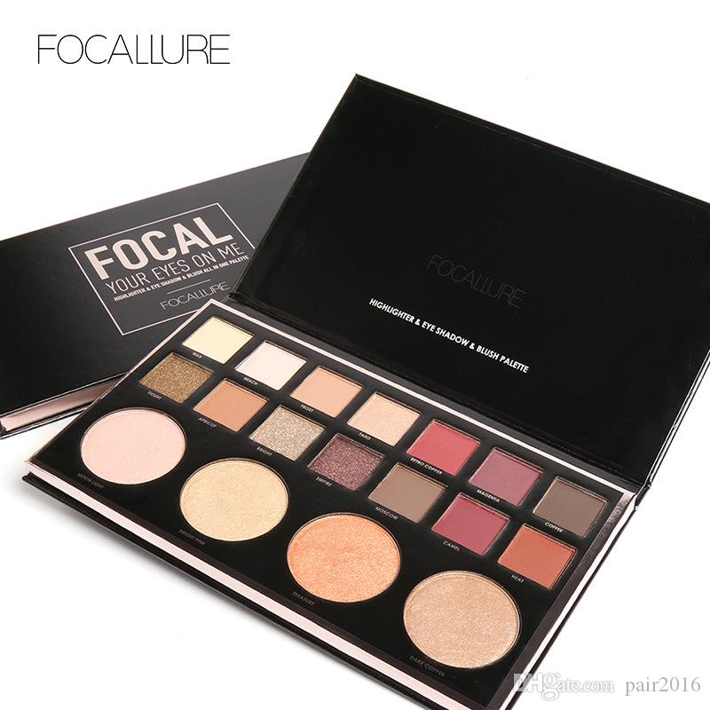 Focallure Cheapest Product Eyeshadow Highlighter Combine Palette Chinese Wholesale Distributors