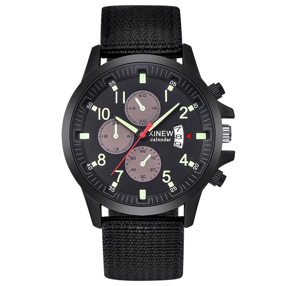 835bbc3059b Compre Relógios Baratos Mens Xinew Marca Assista Moda Nylon Luminosa Data  De Quartzo Relógio De Pulso Relogio Masculino 2018 Montre Homme Reloj De  Prevalent ...