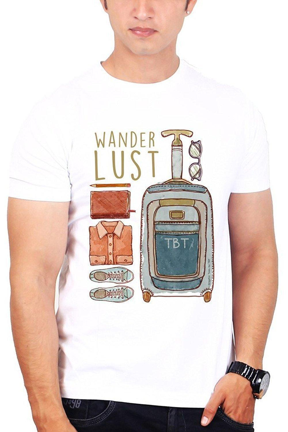 09f77b62 Cheap Tee Shirts Crew Neck Short Graphic Tees For Men Wanderlust Graphic  Mens Tees T Shirts And Shirts On T Shirts From Amesion81, $11.37| DHgate.Com