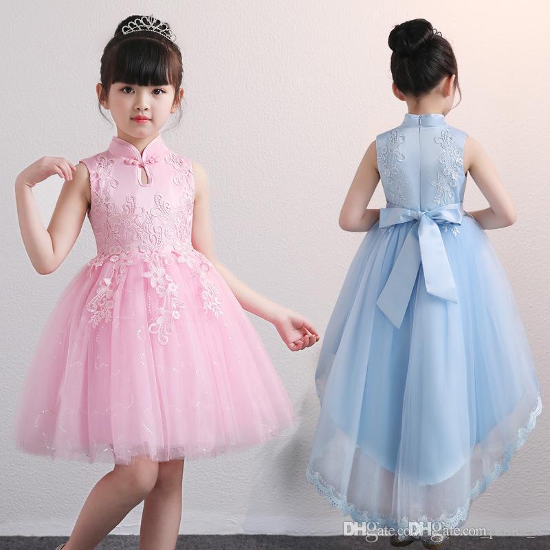 Großhandel Mädchen Party Kleid Weihnachten Kleid Für Mädchen Sommer ...