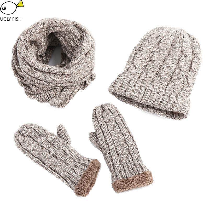 Acquista Kit Cappello E Sciarpa Donna Maglia Uomo Cappello Sciarpa ... 1f6d0ebbd98e