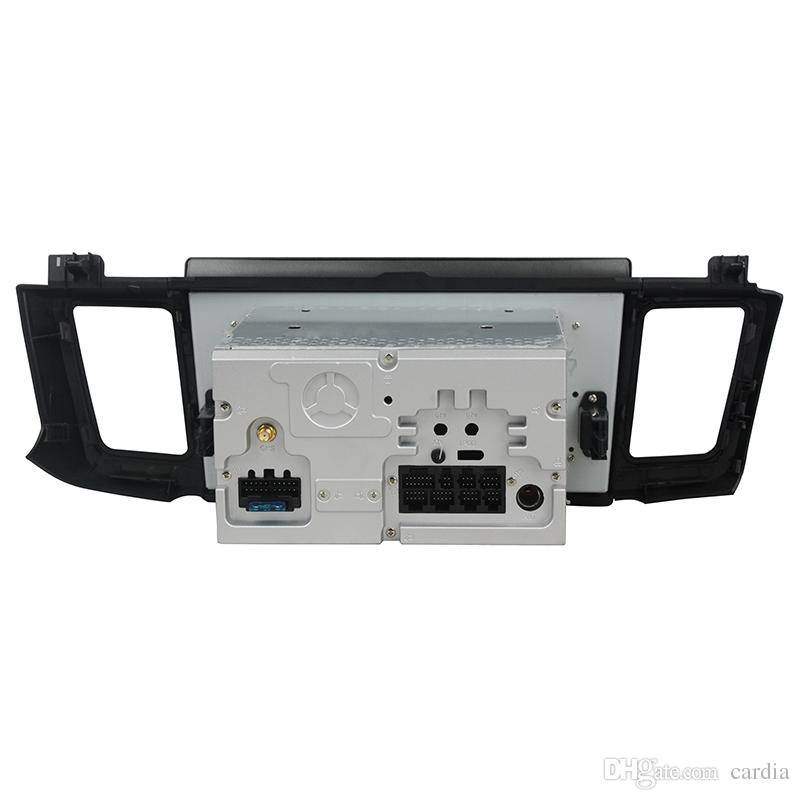Reproductor de DVD del coche para Toyota RAV4 2012-2015 10.1 pulgadas 4 GB RAM Octa core Andriod 8.0 con GPS, Bluetooth