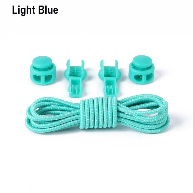 lazy shoe laces locking shoelaces no tie shoe laces New creative elastic locked shoelace safety, to choose