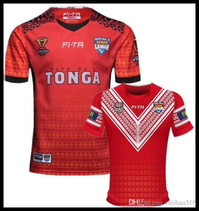 20570919218 2019 TONGA RUGBY LEAGUE WORLD CUP 18 19 HOME JERSEY 2017 2018 NEW Zealand  Warriorsvs 2017 Australia Special Version Yellow Rugby Size:S 3XL From  Ruohan518, ...