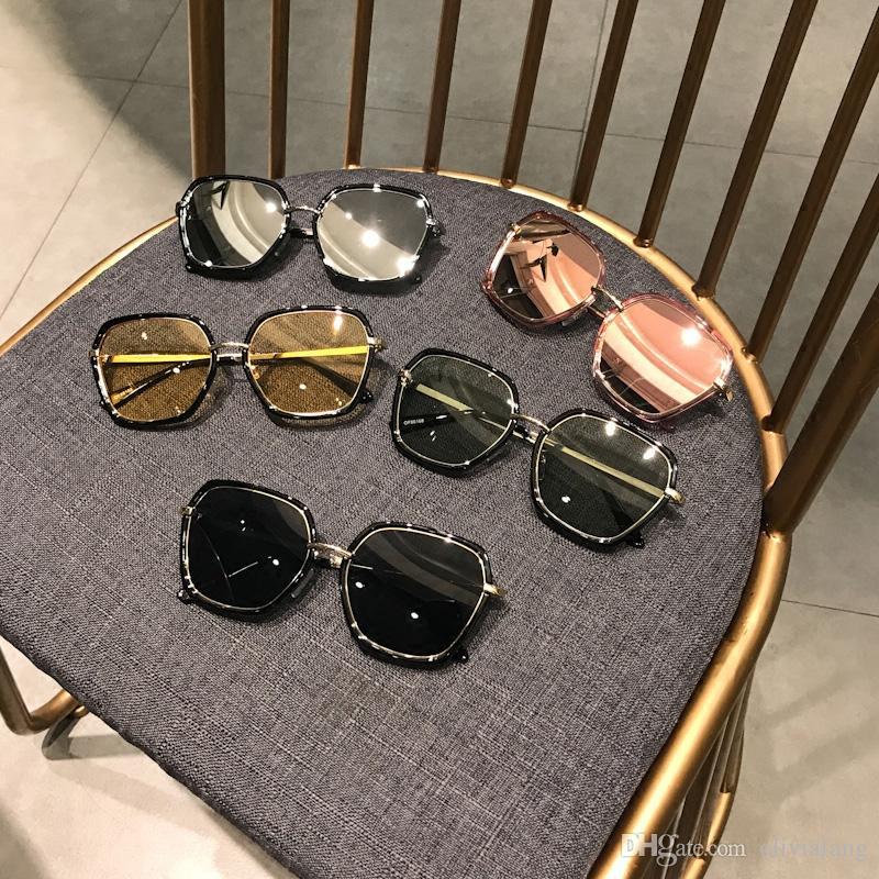 d76e37d424 2018 Fashion Sunglasses For Women Beautiful Glasses UV Protection Round  Lens Full Spectacle Frame Brand New Luxurious Eyeglass Outdoor Eyewe Custom  ...