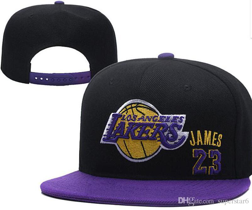 Hot Sale Lakers Cap LAL James 23 America Sports Snapback HAT All Teams  Baseball Football Hats Snapbacks Cap Adjustable Sports Hats 02 Bowtie  Cinema Ties For ... 27586a7a2