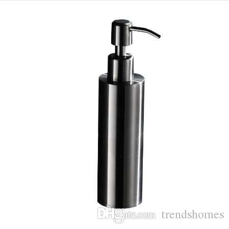 2019 Auswind Black Hand Soap Dispenser Wall Mounted Sus 304