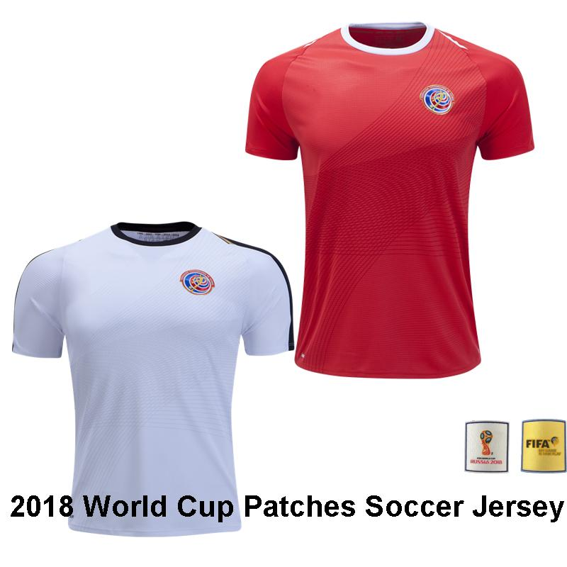 ... away soccer mens jersey fifa world cup 4d666 de069  usa 2018 top thai  quality 2018 world cup costa rica home red soccer jersey 2019 bryan c5c734fe2