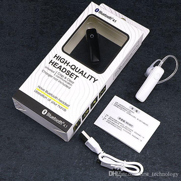 M165 초경량 무선 블루투스 4.1 헤드셋 - iPhone, Android 및 기타 소매 스마트 폰과 호환 가능