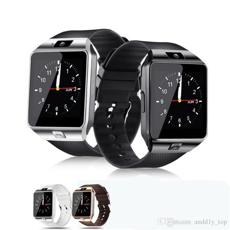 c72b2ae5cd6 Smart Watches DZ09 Bluetooth Smart Watch With SIM Card Slot For Apple  Samsung IOS Android Cell Phone 1.56 Inch Smartwatch Pk Gt08 DZ09 Smart  Watch Bluetooth ...