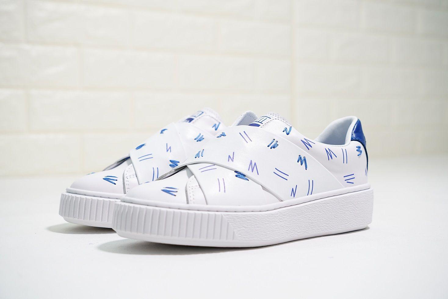85246a3b3ee 2018 Shantell Martin X Platform Slip-On Low Shoes Women Fashion ...