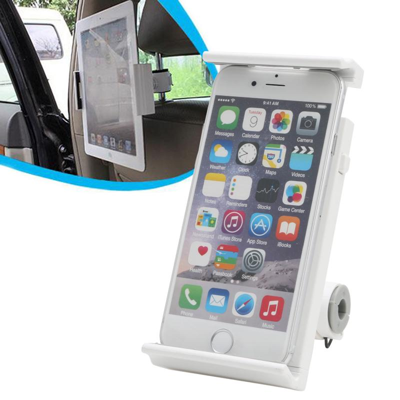 360 Degree Car Back Seat Headrest Mount Holder for iPad mini/Air Tablet PC Phone