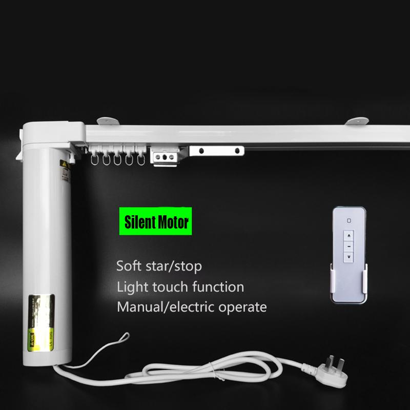 Silent Electric Curtain Blinds 1 0 3 0m Width 90 135 Degree Wifi