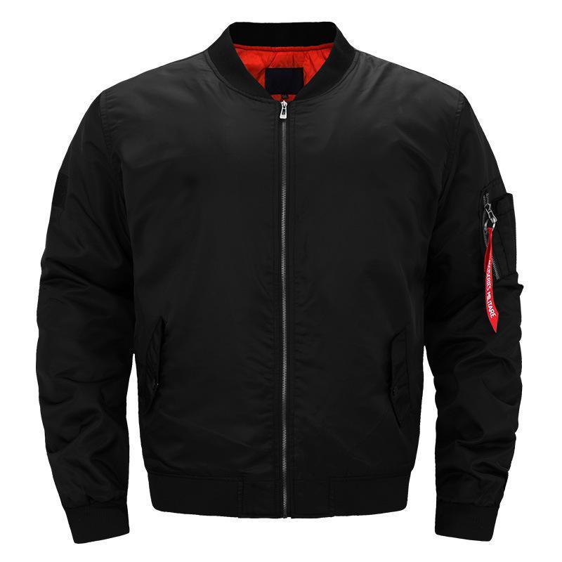 b584be238 Wholesale 2018 Fashion Rib Bottom Pendulum Mens Designer Jackets Pocket  Decoration MA1 Pilot Jackets Youthful Popularity Face Jackets Men