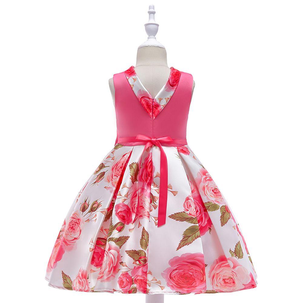 62799a83a9a5 2018 SUMMWER COLLECTION New Style Girls Printed Princess Dress Skirt ...