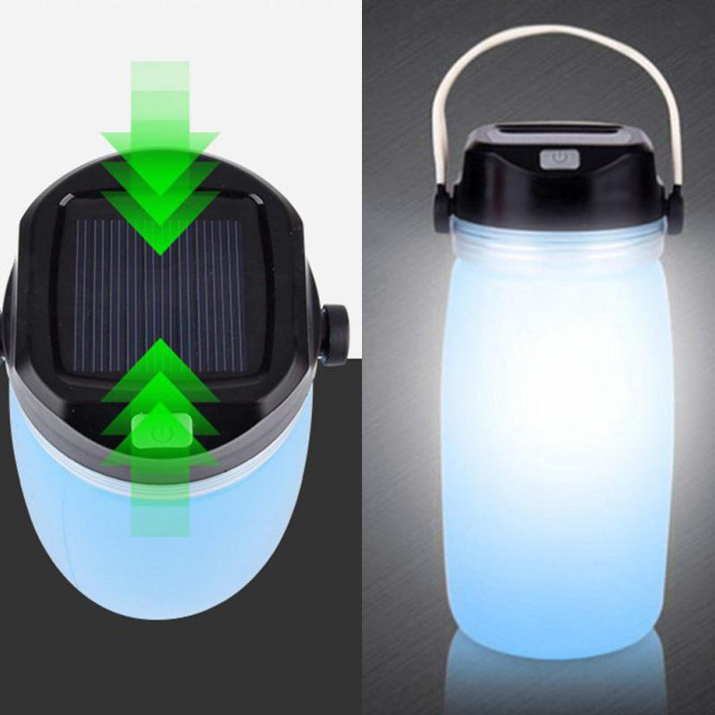 Portable Lighting Usb Outdoor Portable Lanterns Silicone Waterproof Travel Comping Garden Beside Lamp Compass Storage Led Night Light Lamps