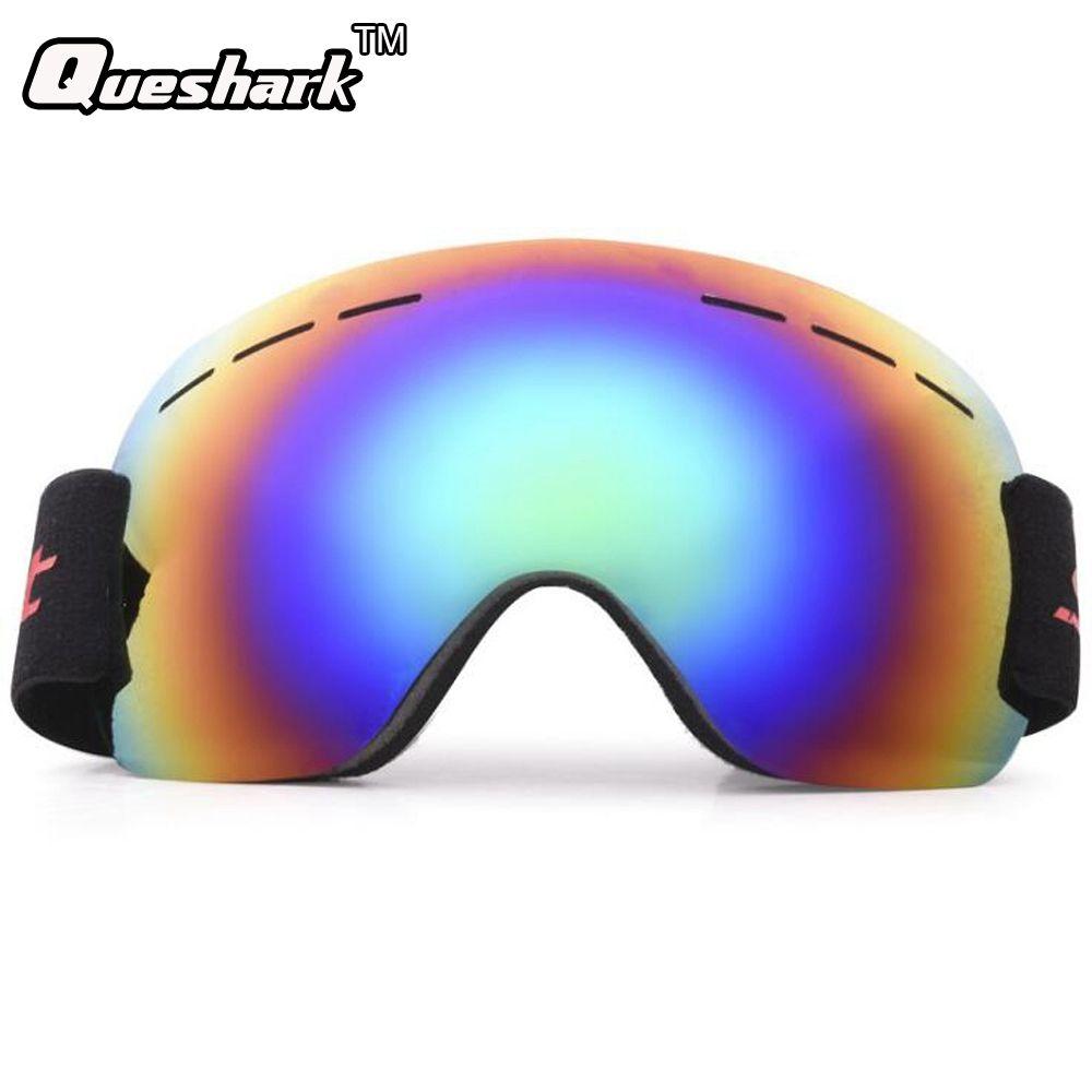 0a53cd512d98 Men Women Winter Single Layer Ski Goggles Uv400 Protection Anti-fog ...