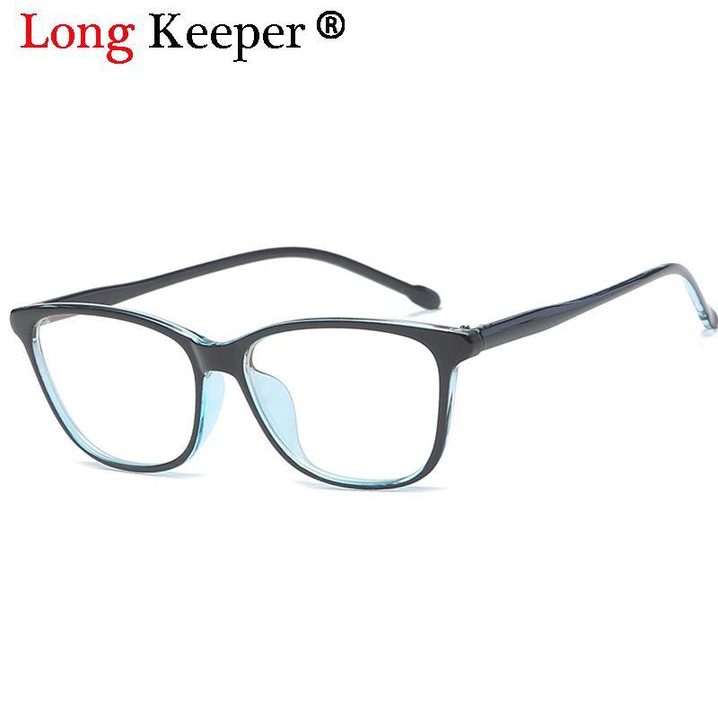 2018 Long Keeper Computer Eye Glasses Frames Anti Blue Rays ...
