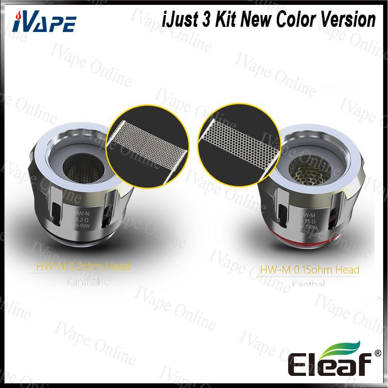Eleaf iJust 3 Kit New Color Version World Cup & Acrylic Element with ELLO Duro 6.5ML 7.5ML & Buit-in Battery 3000MA 100% Original